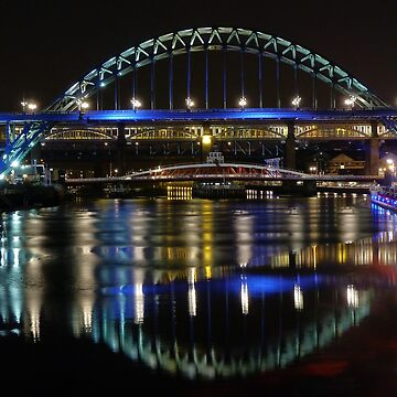 Newcastle reflections   by HaleyRedshaw