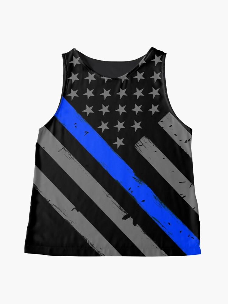 Alternative Ansicht von Polizist Flagge dünne blaue Linie Unterstützung Ärmelloses Top