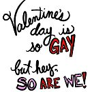 Gay Valentine by cozyreverie