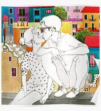 Barcelona Love Poster