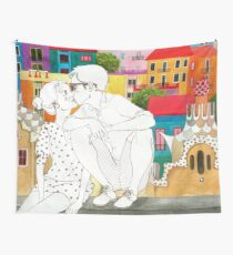 Barcelona Love Wall Tapestry