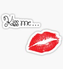 Kiss Me (Valentine) Sticker