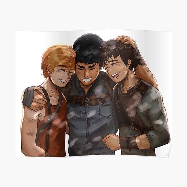 Newt, Minho and Thomas Poster