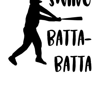 Baseball Swing Batta-Batta, youth baseball, play ball! by bobdvending