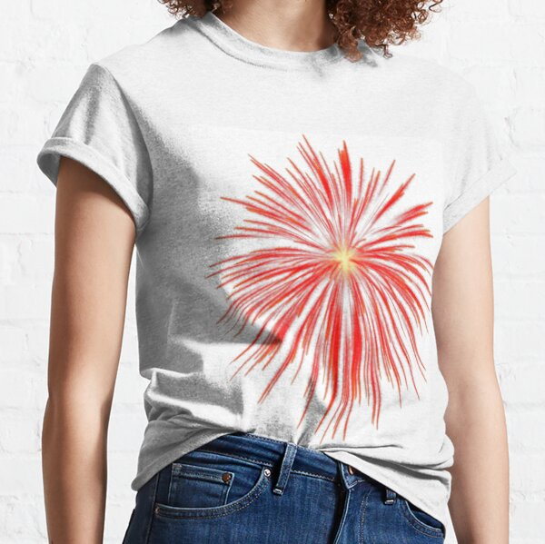 Flash of firework Classic T-Shirt