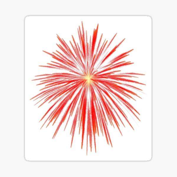 Flash of firework Sticker