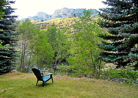Big Thompson Canyon Pre Flood Moment 1 by Robert Meyers-Lussier