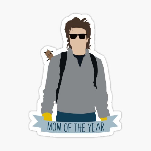 Mama Steve-Stranger Things Sticker