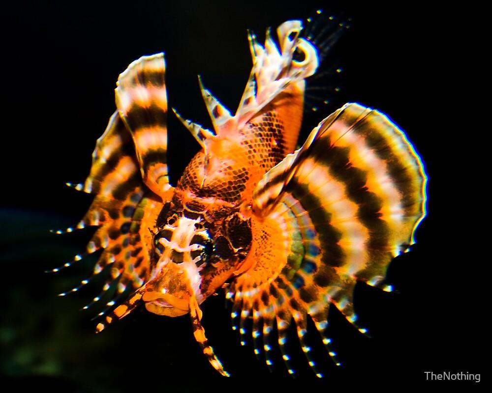Fu Manchu Lionfish by TheNothing