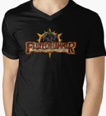 Fluffenhammer Logo Men's V-Neck T-Shirt