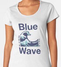 Blue Wave 2018 Women's Premium T-Shirt