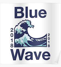 Blue Wave 2018 Poster