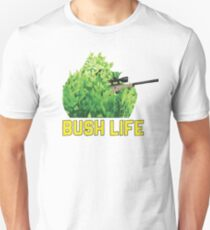 FortNite Gamer Bush Life Camper  Unisex T-Shirt