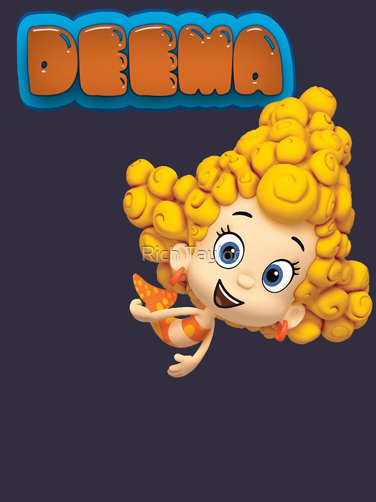 DEEMA - BUBBLE GUPPIES | Women's Fitted Scoop T-Shirt