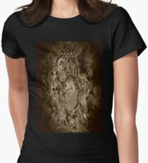 The Sickness Prince (Sepia) Women's Fitted T-Shirt