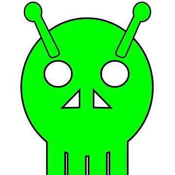 Alien Skull  by mago