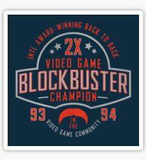 Dr Disrespect 2X Blockbuster Videogame Champion Sticker