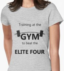 Elite Four Gym Shirt Women's Fitted T-Shirt