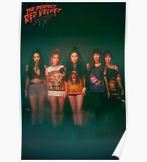RED VELVET BAD BOY Poster