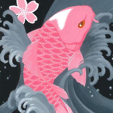 Love Koi Pastel Pink by SadoStyle