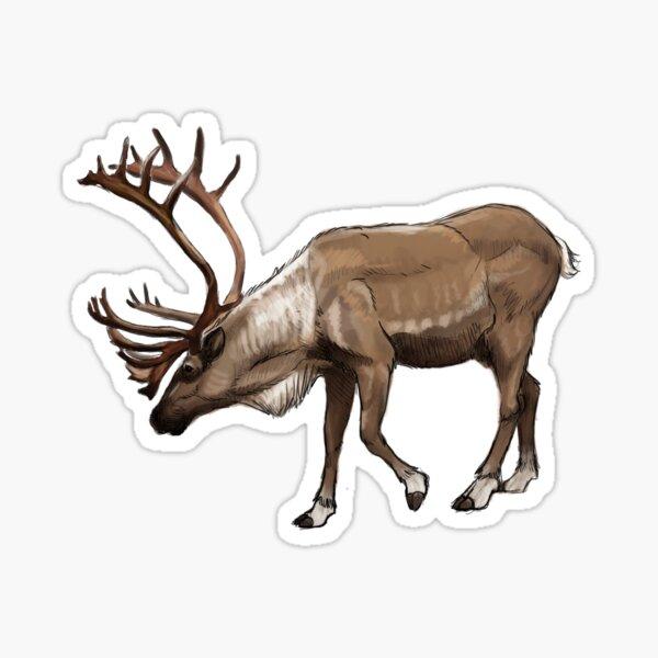 Caribou Sticker