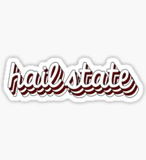 Hail State Chill Sticker