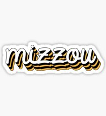 Mizzou Chill Sticker