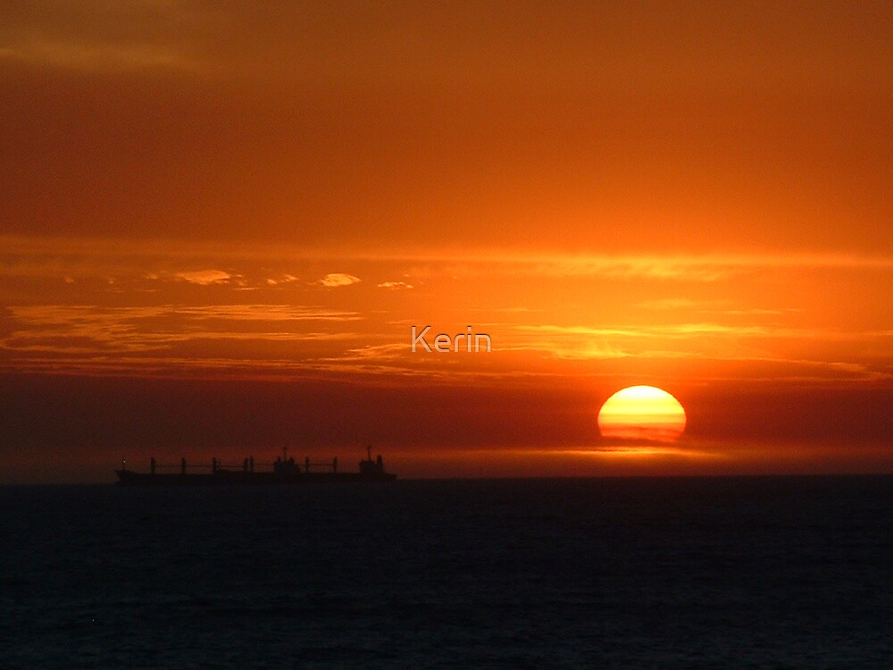 Cottesloe Sunset 2 by Kerin