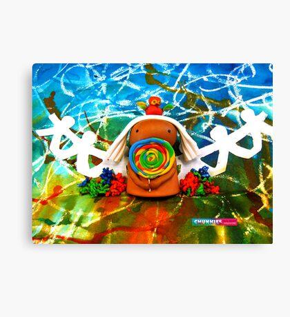 CHUNKIE Lollipop Lover Canvas Print