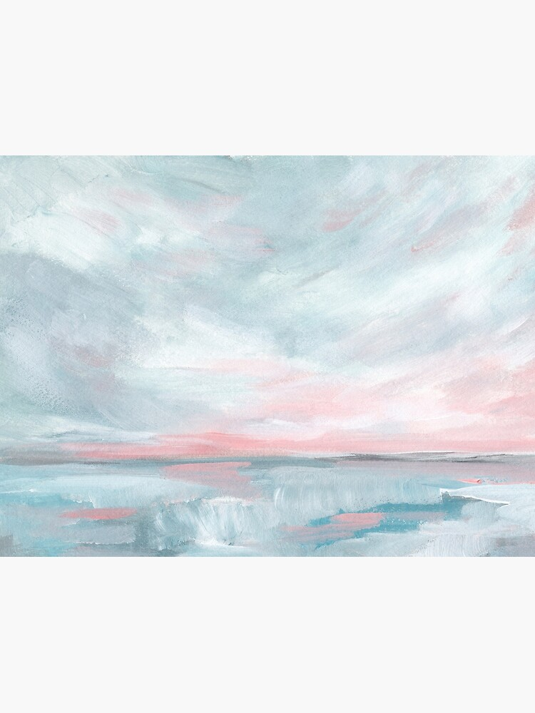 Waves of Change - Stormy Sea Seascape by KristenLacziArt