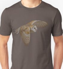 Bubbly Barn Owl Slim Fit T-Shirt