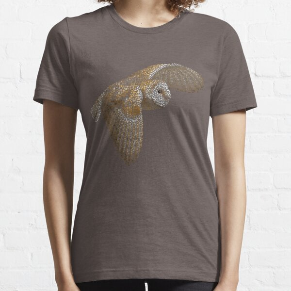 Bubbly Barn Owl Essential T-Shirt