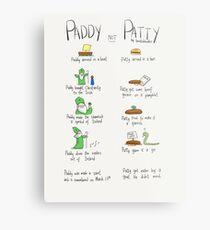 Paddy not Paddy  Metal Print