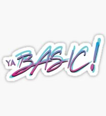 Ya BASIC! Sticker