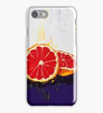 Where Has My Grapefruit Gone? iPhone Case/Skin