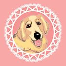 Golden Retriever Love by Abigail Davidson