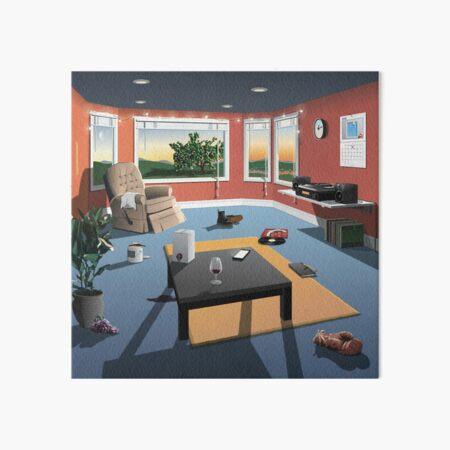 hippo campus album cover Art Board Print