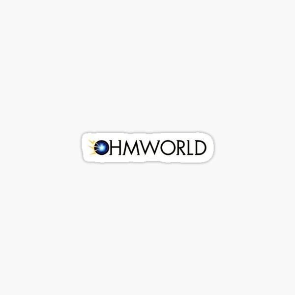 Ohmworld Logo Sticker