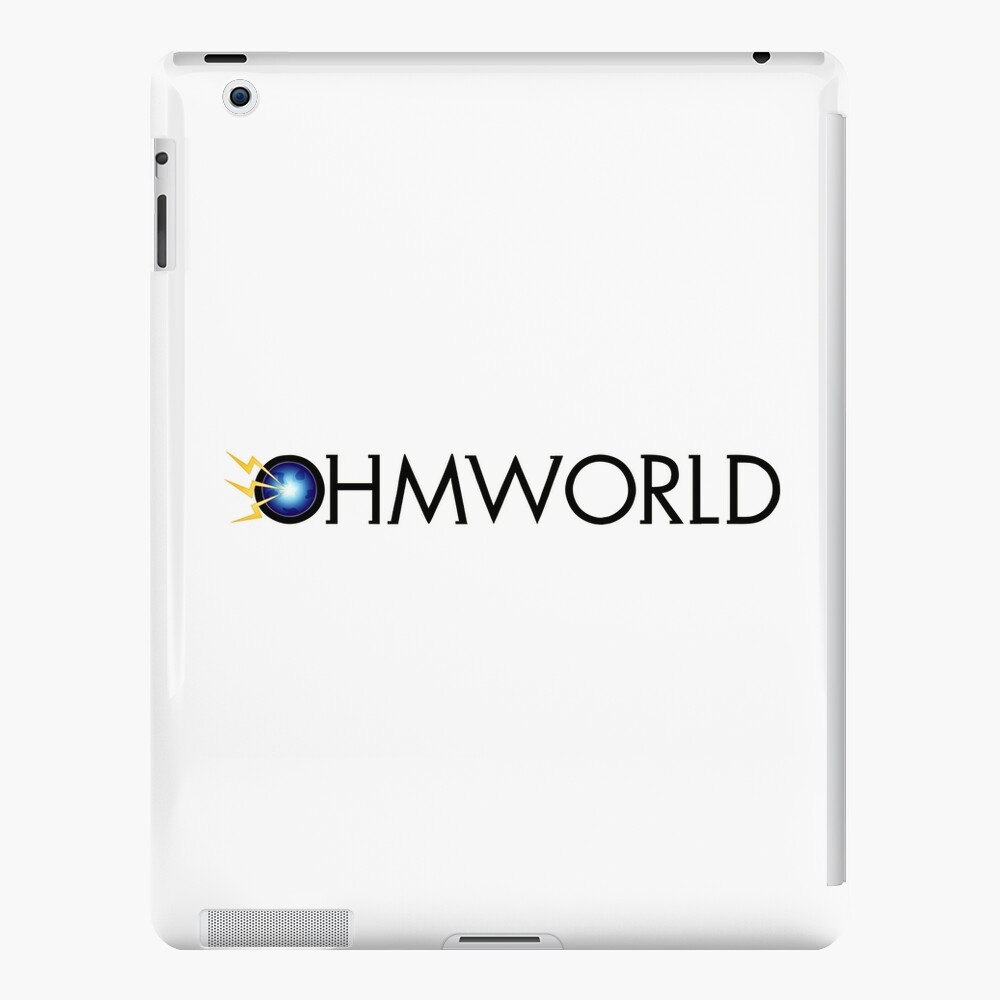 Ohmworld Logo iPad Case & Skin