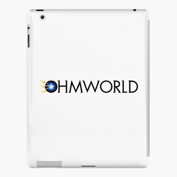 Ohmworld Logo iPad Snap Case