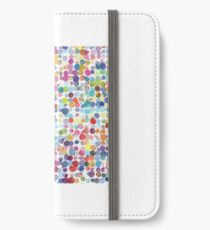 Paint blobs  iPhone Wallet/Case/Skin