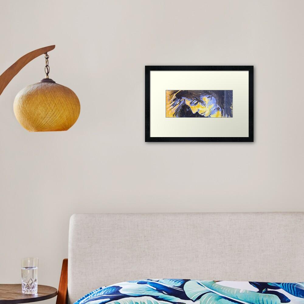 o9 Framed Art Print