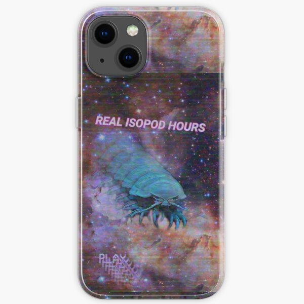 Real Isopod Hours iPhone Soft Case