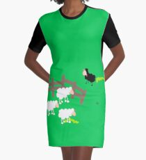 Black sheep Graphic T-Shirt Dress