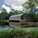 """The Covered Bridge by Arthur """"Butch"""" Petty"""