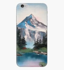 Pink Mountains iPhone Case