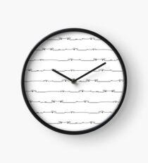 Nilpferd Heartbeats Uhr