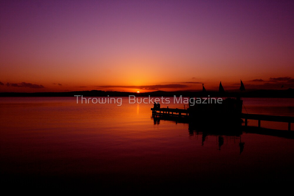SUNSET WARNERS BAY by Throwing  Buckets Magazine
