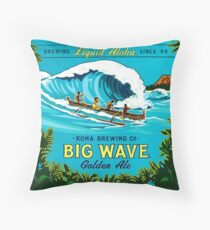 Kona Big Wave Throw Pillow