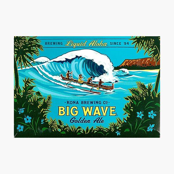 Kona Big Wave Photographic Print